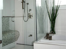Shower Glass Bathroom renovation Durham Region Ajax