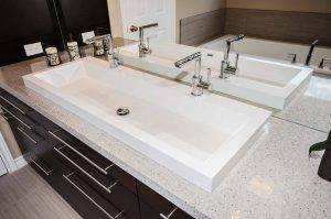 Double sink, Bathroom remodeling, Pickering, Ajax, Whitby, Brooklin, Oshawa, Courtice, Bowmanville, Scarborough