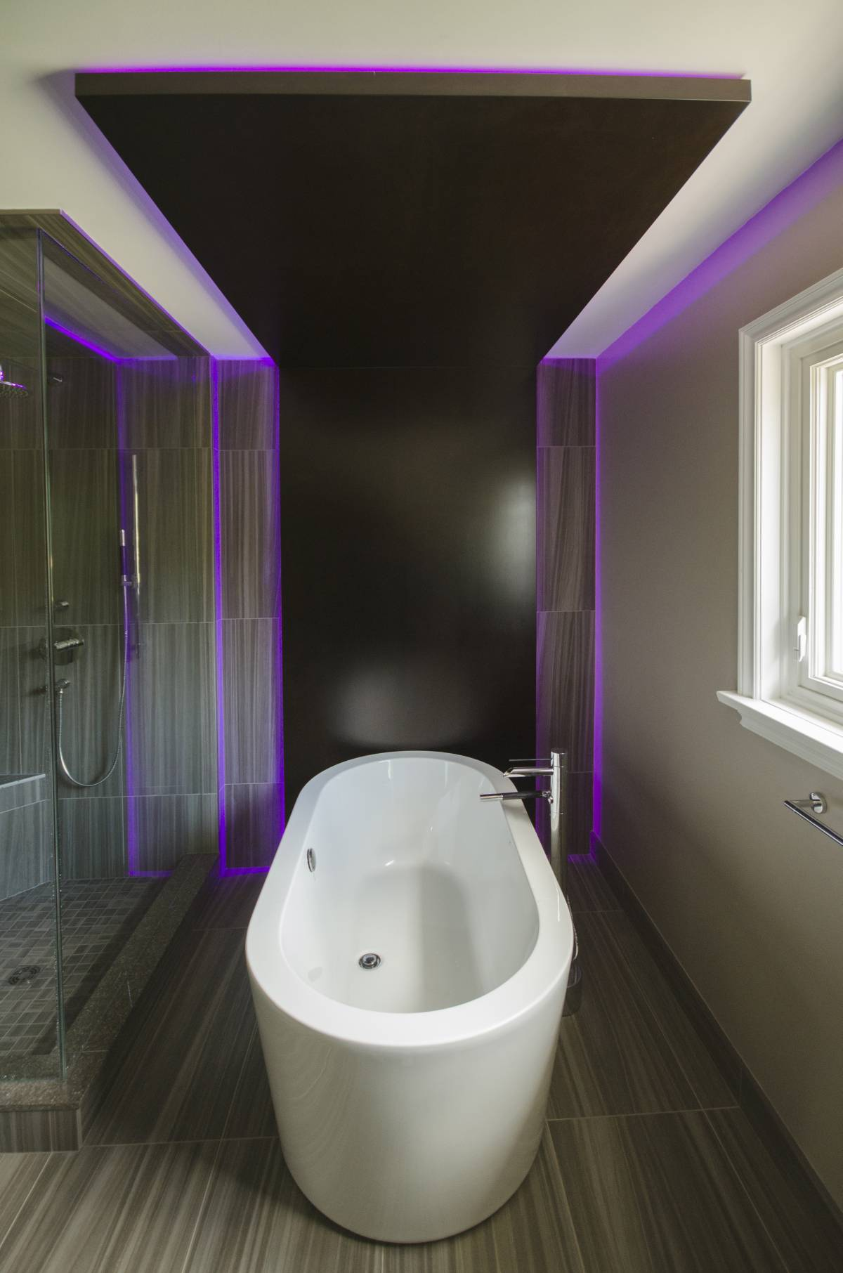 Freestanding Bathtub Bathroom Renovation In Durham Region